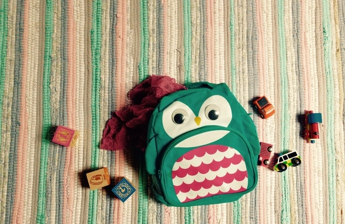 Toddler backpack