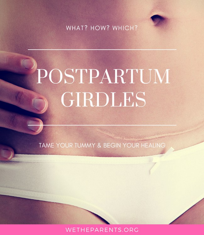 The best postpartum girdles for taming your tummy.