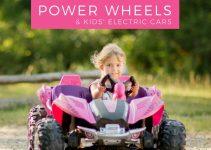 Girl Rides Power Wheel