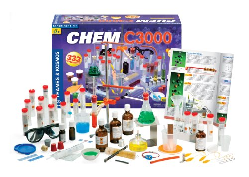 2c4370465 The CHEM C300 is the flagship chemistry set by STEM giants, Thomes &  Kosmos. It provides the closest thing to real lab equipment that older kids  can ...