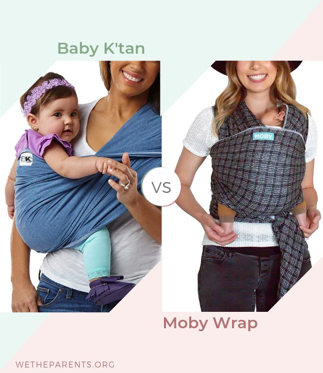 39d2cf88a9f Baby K tan vs Moby Wrap (2019 Comparison Guide)