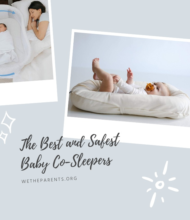 A montage of the best Baby Co-Sleepers
