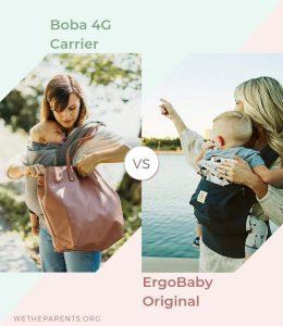 Boba 4g vs Ergobaby Original baby carrier