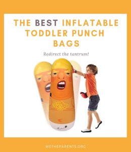 Inflatable toddler punch bags
