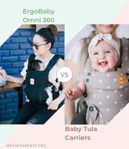 ergobaby omni 360 vs Baby tula