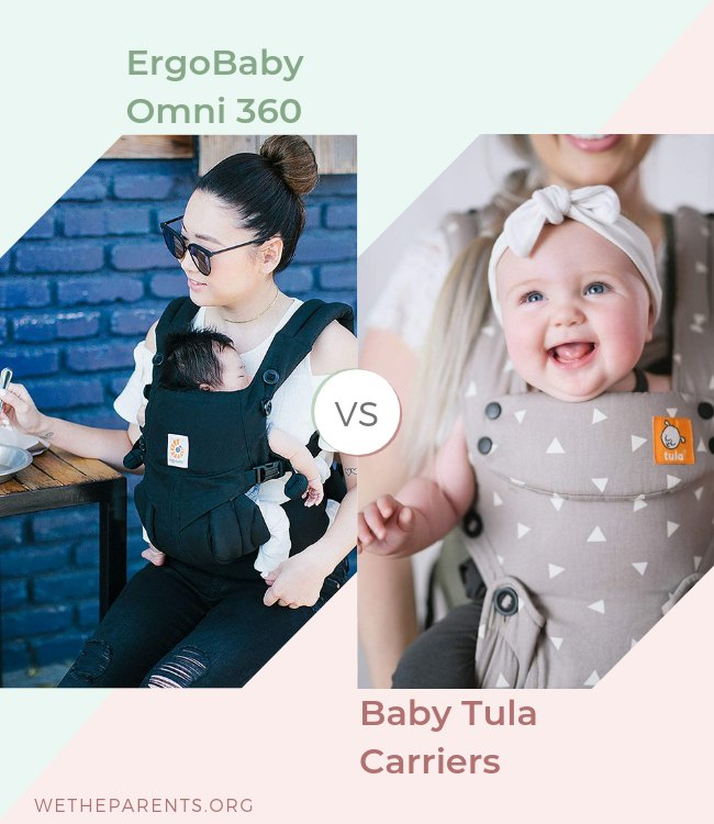 Ergobaby 360 Vs Tula Baby Carrier 2019 Comparison Guide Wetheparents
