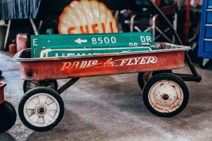 old radio flyer wagon