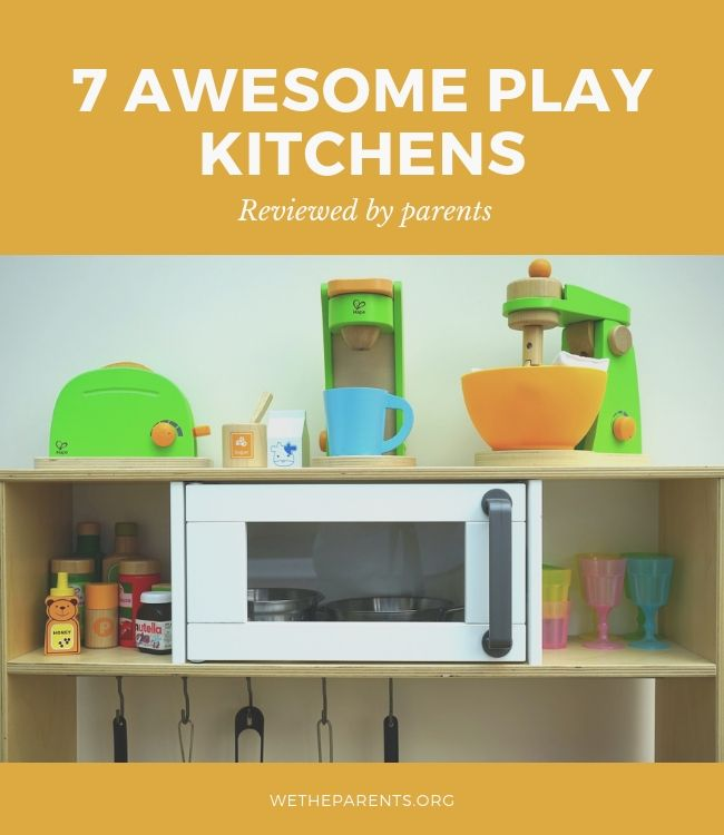 A kid's play kitchen