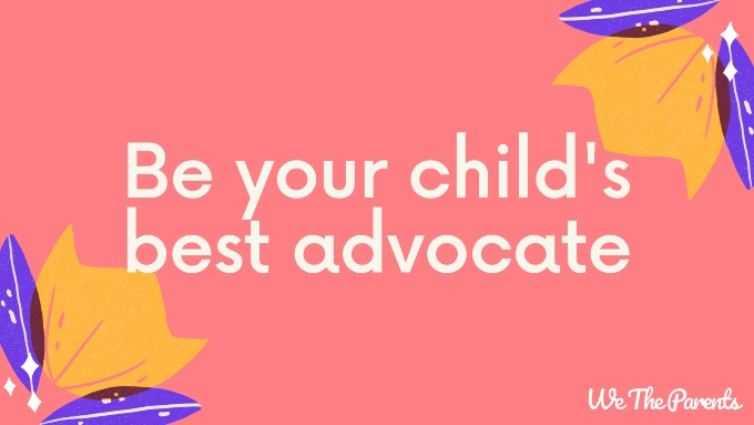 "Autism quote: ""Be your child's best advocate"""