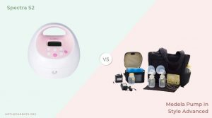 picture of spectra and medela PIS breast pumps side by side